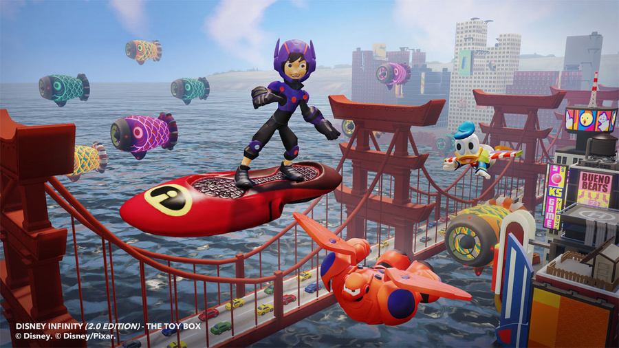 Disney Infinity: Toy Box Starter Pack (2.0 Edition) Screenshot #4