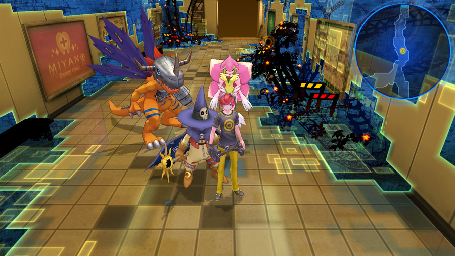 Digimon Story Cyber Sleuth Screenshot #3