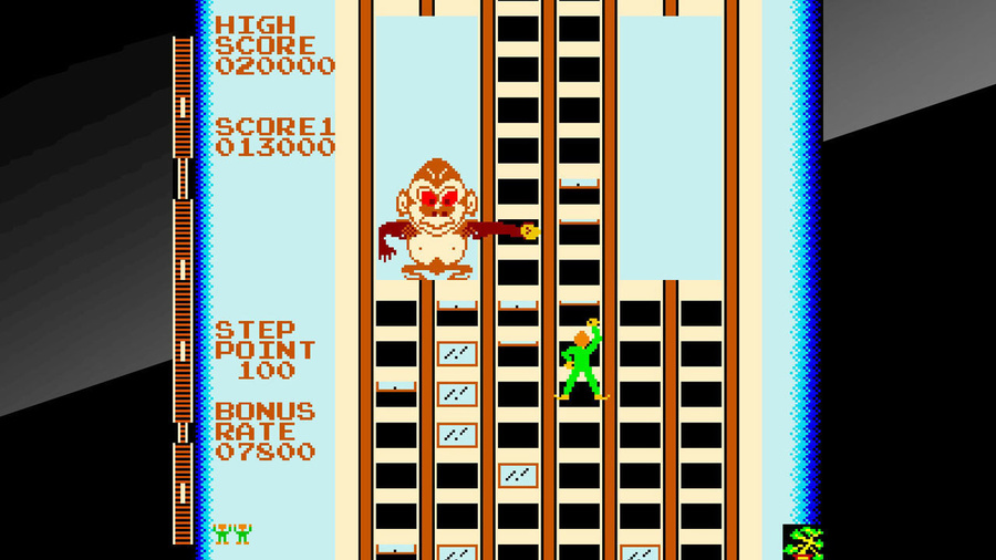 Arcade Archives CRAZY CLIMBER Screenshot #2