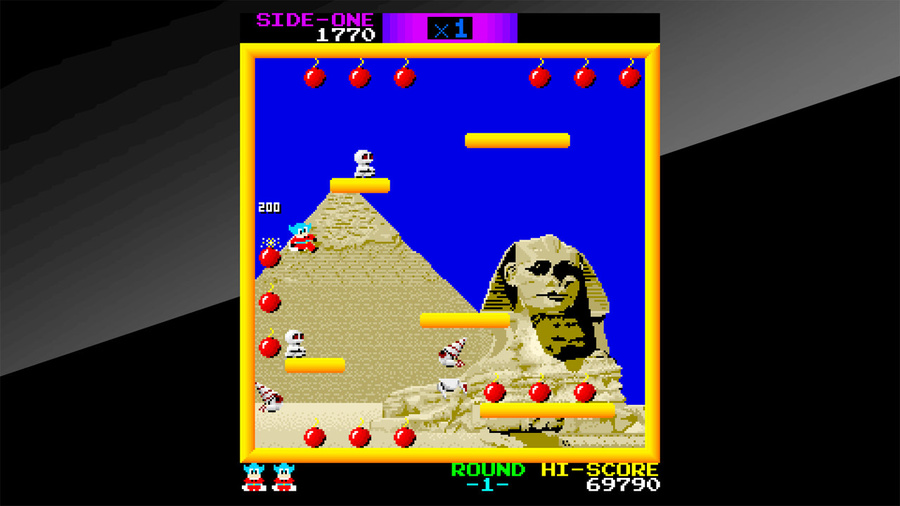 Arcade Archives BOMB JACK Screenshot #4