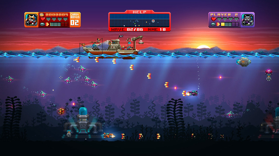 AQUA KITTY - Milk Mine Defender DX Screenshot #9