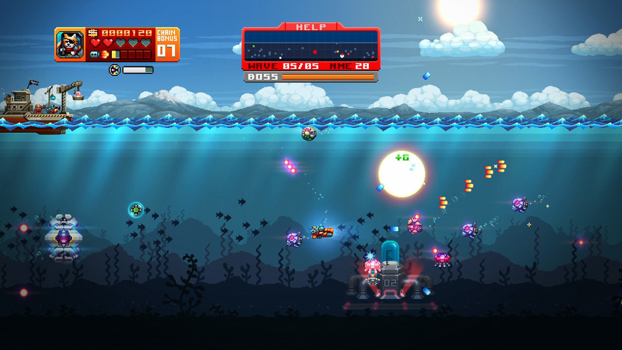 AQUA KITTY - Milk Mine Defender DX Screenshot #5