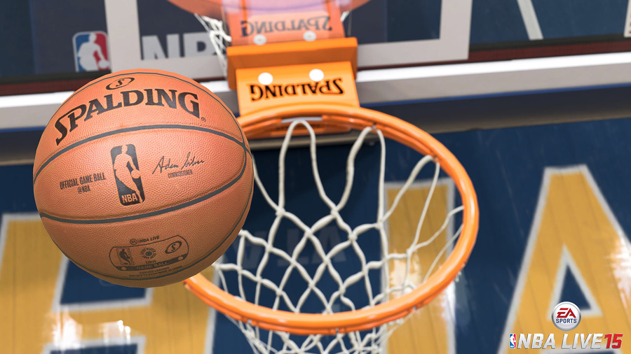 NBA LIVE 15 Screenshot #1
