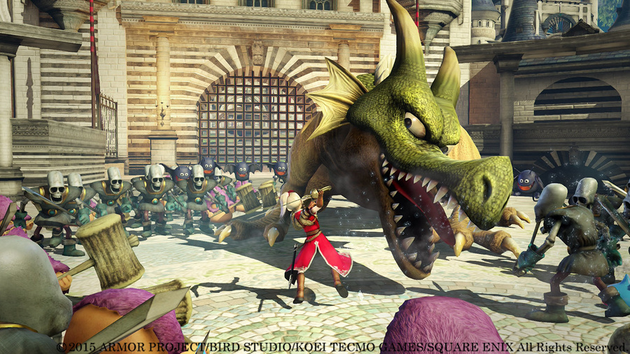 DRAGON QUEST HEROES: The World Tree's Woe and the Blight Below Screenshot #3