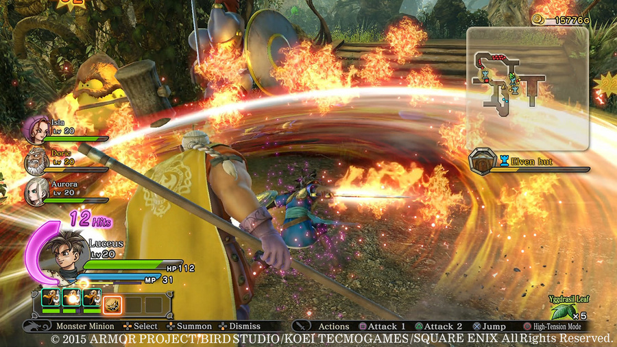 DRAGON QUEST HEROES: The World Tree's Woe and the Blight Below Screenshot #4