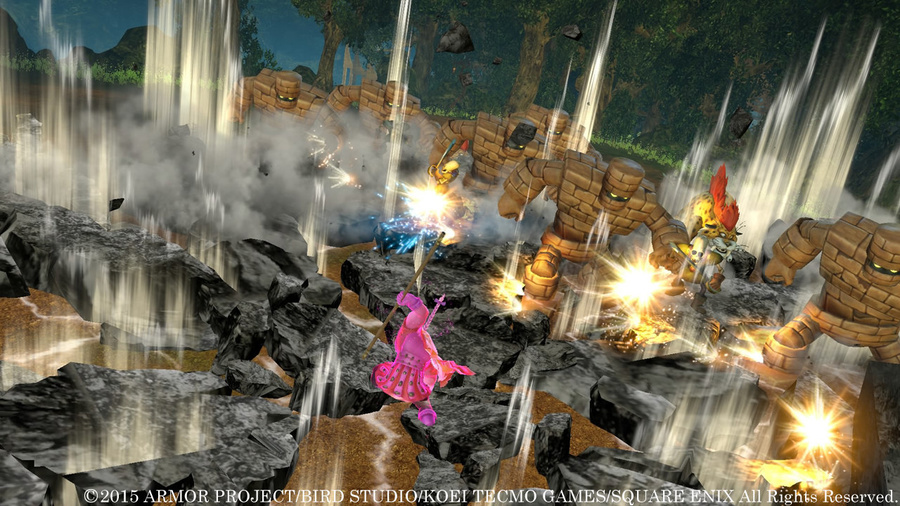 DRAGON QUEST HEROES: The World Tree's Woe and the Blight Below Screenshot #7