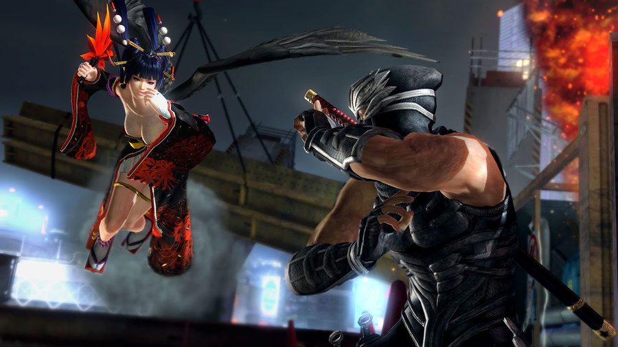 DEAD OR ALIVE 5 Last Round Screenshot #3