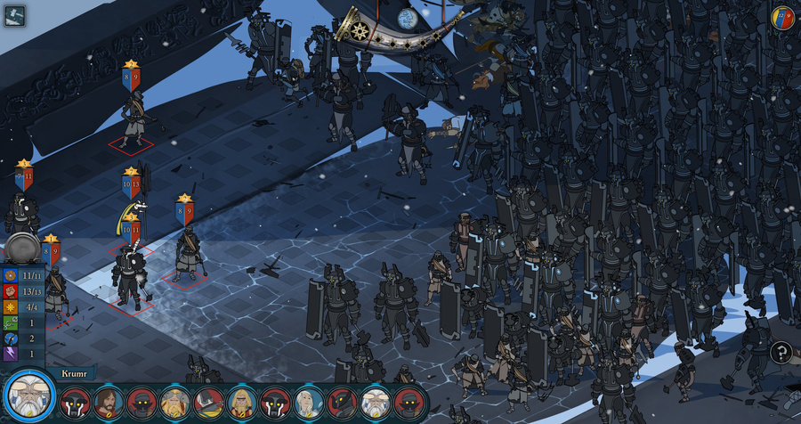 The Banner Saga Screenshot #6